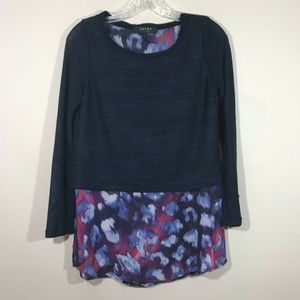 Poeme By Citron Womens Top Blouse size Small